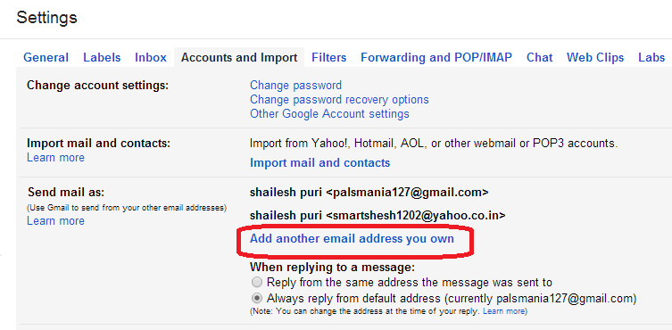 manage hotmail account
