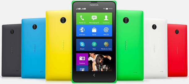 Nokia x Dual-SIM android