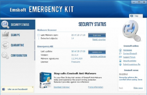 Emsisoft free antivirus