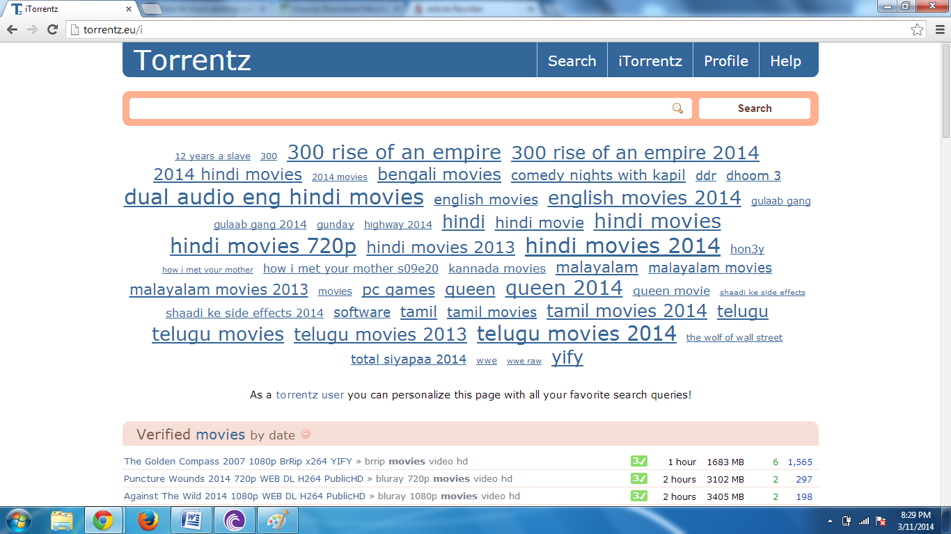 utorrent search engine hindi movies