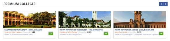 Premium colleges
