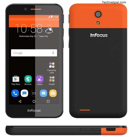 infocus_m260 orange android phone